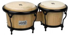 Toca Players Sereies 2600N Large Bongos Size Natural Wood