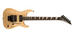Jackson JS32Q Dinky Electric Guitar Quilt Maple Top Natural Blonde
