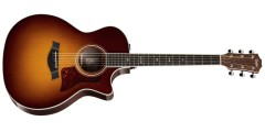 Taylor 714CE Grand Auditorium Acoustic Electric Cutaway Guitar with Hardshe