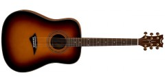 Dean  TS2-VSB  Tradition  Solid  Spruce  Top  Acoustic  Guitar  -  Vintage