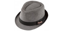 Fender  Fedora  Black  and  Grey  LG  to  XL