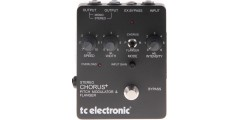 TC Electronic SCF World Standard Stereo Chorus Flanger Guitar FX Effects Pedal