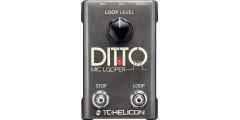 TC Helicon Ditto Mic Looper Premium Vocal Effects Looper