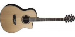 Washburn AG20CEK Grand Auditorium Acoustic Electric Cutaway Select solid Sp