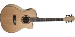 Washburn AG40CEK Grand Auditorium Acoustic Electric Cutaway Solid Spruce To