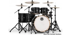 Mapex AR628SFUTB 6 Piece Armory Studioease Fast Shell Pack Trans Black