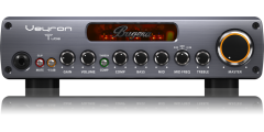 Bugera BV1001T Ultra-Compact 2000-Watt Class D Bass Amplifier with Tube Pre