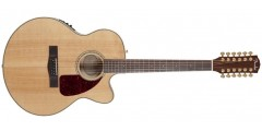 Fender CJ290SCE-12 Jumbo 12 String Acoustic Guitar with Case
