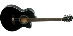 Washburn EA12B Mini Jumbo Electric Acoustic Guitar