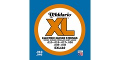 D  Addario  EXL110  Electric  Guitar  Strings  Xl  Series  (.010-.046)
