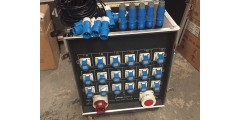 Used - 125 amp 3 phase portable distro