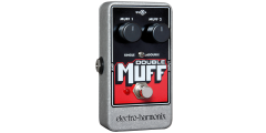 Electro Harmonix Double Muff Overdrive/Fuzz Pedal