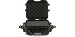 Waterproof case w/ diced foam - 9.4x7.4x5.5