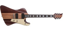 Diamond HFRSTP-TWA Hailfire Plus Electric Guitar Carved Top Trans Walnut