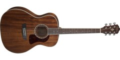 Washburn HG12S Heritage Series Grand Auditorium Solid Mahogany Top Natural