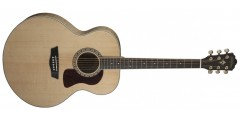 Washburn HJ40S Heritage Acoustic Solid Spruce Top ..