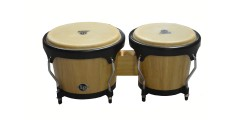 Lp Latin Percussion Aspire Wood Bongos Natural (6 3/4 and 8 inch)