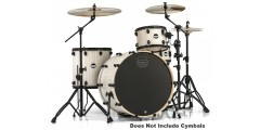 Mapex MA446SBAW 4 Piece Mars Rock 24 Shell Pack Bonewood Black Hardware