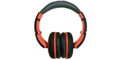 CAD Audio MH510OR Closed-back Studio Headphones - Black/Orange - Two Cables