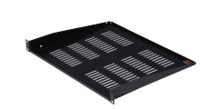 1U Shelf 15 Deep Vented