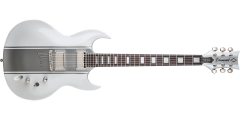 DBZ Diamond RENSTP14-WHSS Renegade ST Plus Electric Guitar White