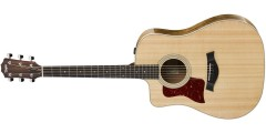 Taylor  210CE-DLX-LH  Deluxe  Left  Handed  Dreadnought  Cutaway  Acoustic