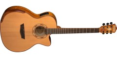 Washburn WCG66SCE Grand Auditorium Electric Acoustic Guitar