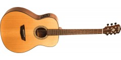 Demo - Washburn WLO100SWEK Woodline Solid Wood Series Orchestra Body Acoust