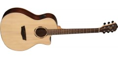 Washburn WLO20SCE Woodline Orchestra Solid Spruce Top Cutaway Acoustic Elec