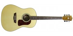 Open Box - Washburn WSJ50SKELITE Solid Spruce Top Southern Jumbo Acoustic G