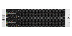 Behringer  FBQ6200  31  Band  Stereo  Graphic  Equalizer