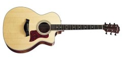 Taylor 214CE Grand Auditorium Acoustic Electric Cutaway Guitar