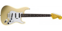 Vintage  Modified  70s  Stratocaster  Vintage  White  Squier  by  Fender