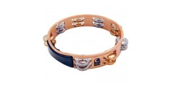 Toca Wooden Tambourine Double Row
