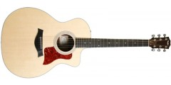 Taylor  214CE-DLX  Grand  Auditorium  Acoustic  Electric  Cutaway  Guitar