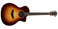 Taylor 214CE-DLX-SB Grand Auditorium Acoustic Electric Cutaway Guitar