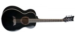 DBZ  T21F-BK  Acoustic  Guitar  Spruce  Top  Gloss  Black  Finish  -  B  St