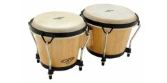 LP Latin Percussion Cp Traditional Bongo Natural Wood