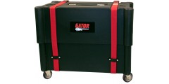 Gator Molded Mil-Grade PE Case & Stand w/ Wheels for 2X12 Combo Amps