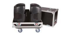 Tour Style Transporter for (2) 12 speakers