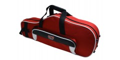 Lightweight Alto Sax Case White and Red