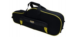 Lightweight  Alto  Sax  Case  Yellow  and  Black