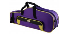 Lightweight Alto Sax Case Yellow and Purple