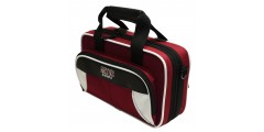 Lightweight Clarinet Case White and Maroon