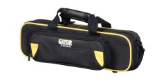 Lightweight Flute Case Yellow and Black