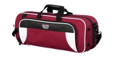 Lightweight Trumpet Case White and Maroon