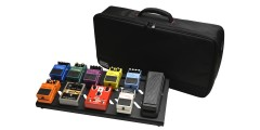 Black Aluminum Pedal Board - Large w/ Carry Bag