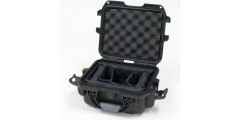 Waterproof case w/ divider system - 9.4x7.4x5.5