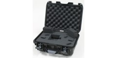 Waterproof case w/diced foam - 13.8x9.3x6.2