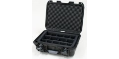 Waterproof case w/ divider system - 15x10.5x6.2